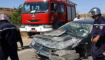 Le nombre des accidents de la route a enregistré une légère baisse par rapport à l'année 2012