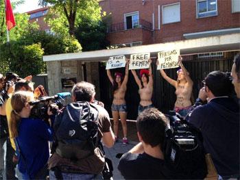 Les 3 Femen