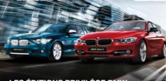BMW met actuellement en valeur ses gammes Série 1