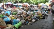 Les ordures réapparaissent dans la capitale