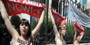 L'Union européenne a exprimé sa'' grande surprise'' à la sévérité des peines d'emprisonnement prononcées contre les trois Femen condamnées