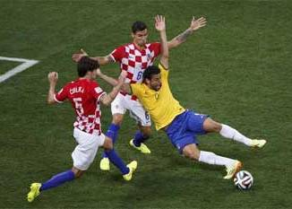 Le Brésil a dominé jeudi soir la Croatie (3-1)