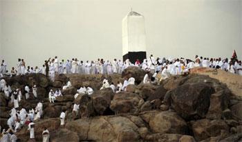 Près de 9000 pèlerins tunisiens sont arrivés à Arafat à bord de 180 autocars