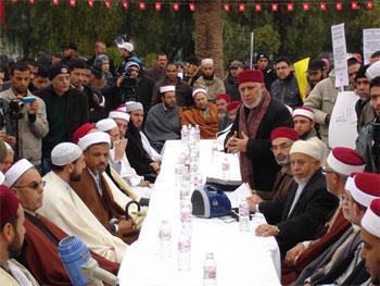 Un grand nombre d'Imams s'est rassemblé