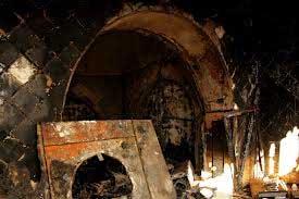L'incendie qui a ravagé le mausolée Sidi Bou Saïd