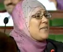 L'élue à l'assemblée nationale constituante
