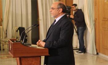A la fin de la deuxième rencontre plénière de consultations avec les partis politiques