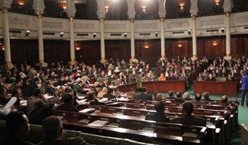 La séance plénière de l'ANC consacrée à la poursuite de la discussion de la loi électorale