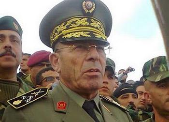 Le lieutenant-colonel Fawzia Behia