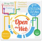 L'open du web aura lieu le 28 Novembre 2013 à 9 h du matin