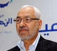 Le président du mouvement Ennahdha Rached Ghannouchi