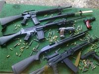 Les unités sécuritaires spécialisées de Gafsa ont découvert à l'aube de la journée du dimanche 19 janvier 2014 un atelier de fabrication d'armes et de cartouches de différents