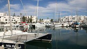 Les marins du port de la ville de Sousse ont porté