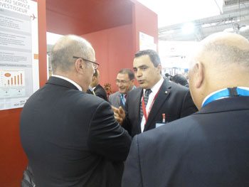 La Tunisie a présenté et défendu au Salon Le Bourget ses atouts en tant que site d'avenir pour l'industrie aéronautique. Accompagné