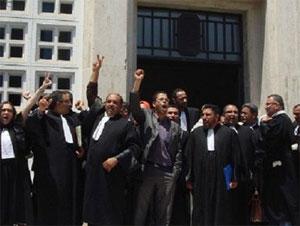 Des avocats de Béja ont envahi