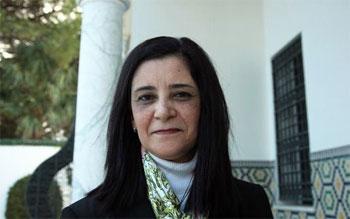 La secrétaire d'Etat  pour la femme et de la famille