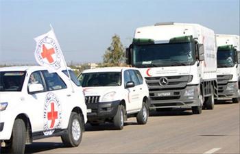 La délégation du comité international de la croix rouge a quitté ses