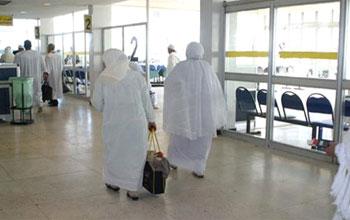 Le premier vol pour le pèlerinage de la saison 2013 vers Médine