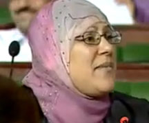 Invitée du plateau TV «Assaraha Raha»