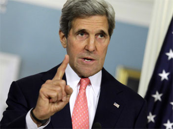 Un ouverte lettre adressée au secrétaire d'Etat américain John Kerry signée par des dizaines de diplomates
