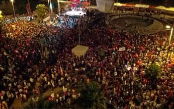 Les regards se sont braqués sur le nombre des participants à la manifestation du 24 août