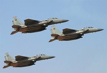 Des sources Yéménites indiquent que les raids aériens de la coalition arabe dirigée par l'Arabie Saoudite a fait plus de 40 morts et une