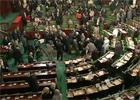 Les agents et les fonctionnaires de l'assemblée nationale constituantes ont empêché