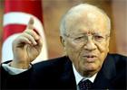 Le leader du mouvement « Nidaa Tounes »