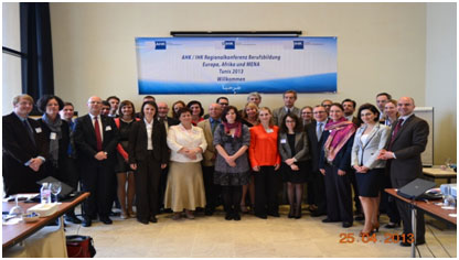 La Chambre Tuniso-Allemande de l'Industrie et du Commerce (AHK Tunisie) a organisé au nom du Deutscher Industrie- und Handelskammertag (DIHK)
