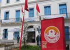 De nombreux syndicalistes se sont mis en ordre de bataille pour défendre le siège central de l'UGTT