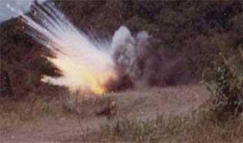 Le site électronique d'Achourouk a rapporté qu'une mine a explosé