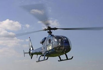 Des hélicoptères de l'armée nationale sont intervenus