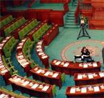 Seuls 45 des 217 députés que compte l'ANC se sont présentés ce matin à l'hémicycle du Bardo