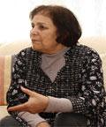 La militante et politicienne Naziha Rejiba (alias Oum Zied)