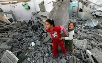 Au moins dix Palestiniens ont été tués dimanche dans une nouvelle frappe