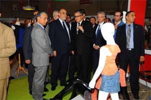Le 13ème salon euro-méditerranéen du textile-habillement