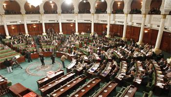 Les députés retirés de l'assemblée nationale constituante