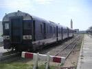 Deux trains desservant les lignes de la banlieue Sud de la capitale Tunis