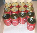 Prés de 8000 boites de conserve de tomate non conformes aux normes ont été saisies jeudi 30 janvier 2014 à Béja. Le poids de certaines boites n'a pas dépassé les 370 grammes alors qu'il devrait