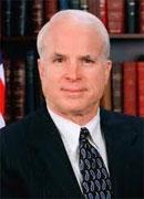 Le sénateur américain John McCain a déclaré avoir insisté auprès du chef du gouvernement provisoire