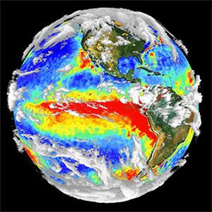 La probabilité que survienne un phénomène El Niño