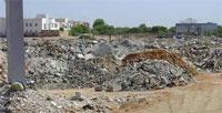 Un projet d'évacuation des déchets de chantier au sud de Tunis
