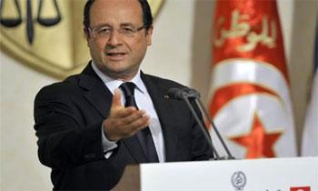 Le président français