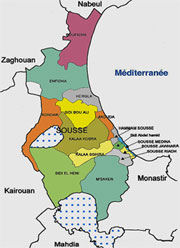 La municipalité de Sousse a réalisé jusqu'à fin juin dernier des recettes de 9
