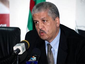 Le Premier ministre algérien