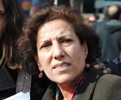 La présidente de l'Organisation tunisienne de la lutte contre la torture