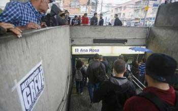 La mégapole de Sao Paulo se prépare à un lundi chaotique