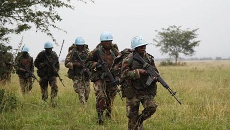 14 casques bleus tués lors d'affrontements en RDC