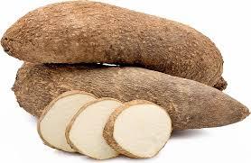 Nigerian White Sugar Yam 2.3kg -2.5kg Tuber of yam