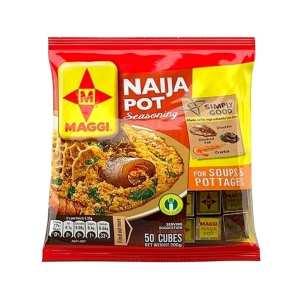 Maggi Naija Pot Seasoning (50 Cubes)